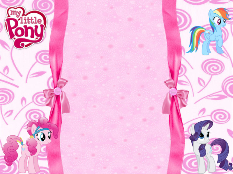 Printable My Little Pony Invitation