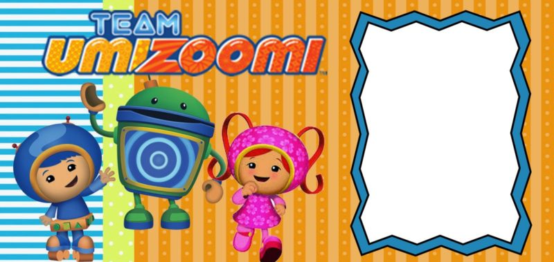 Free Printable Team Umizoomi invitation
