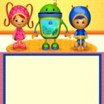 Free Team Umizoomi invitation Template 150x150