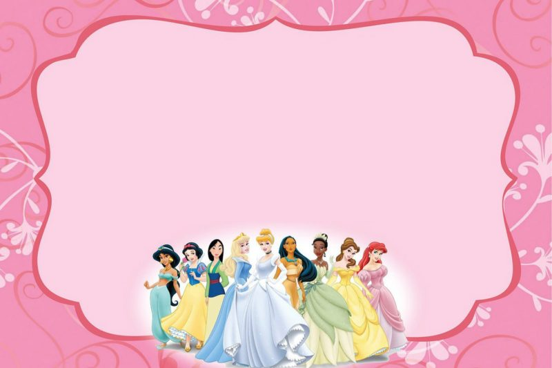 Princess birthday party invitation free printable invitation templates princess birthday party invitation filmwisefo