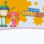 Team Umizoomi birthday printable invitation
