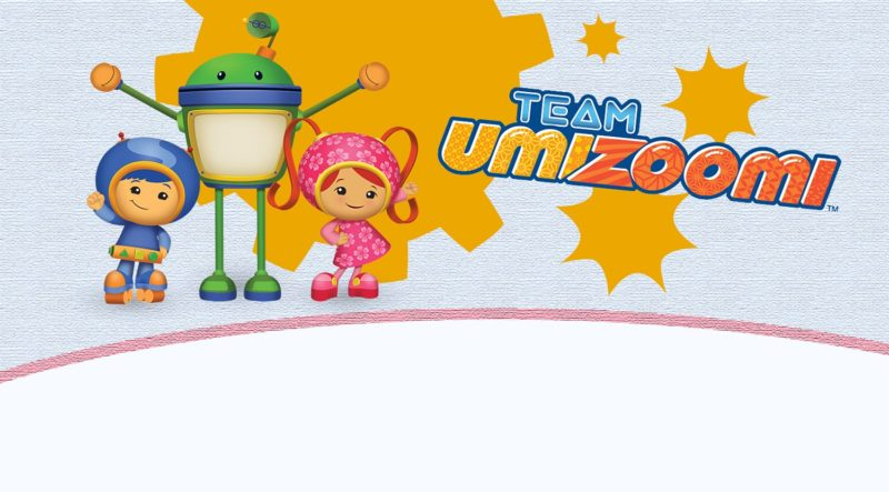 Team Umizoomi birthday printable invitation