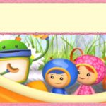 Team Umizoomi empty invitation template 150x150