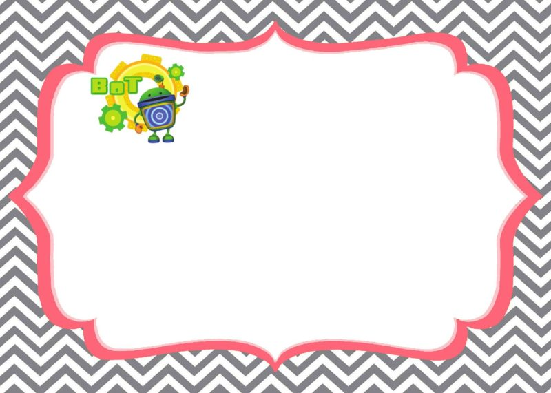 Team Umizoomi invitations Bot template