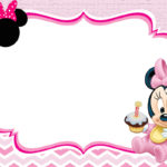 Baby Minnie Mouse Invitation Template 150x150