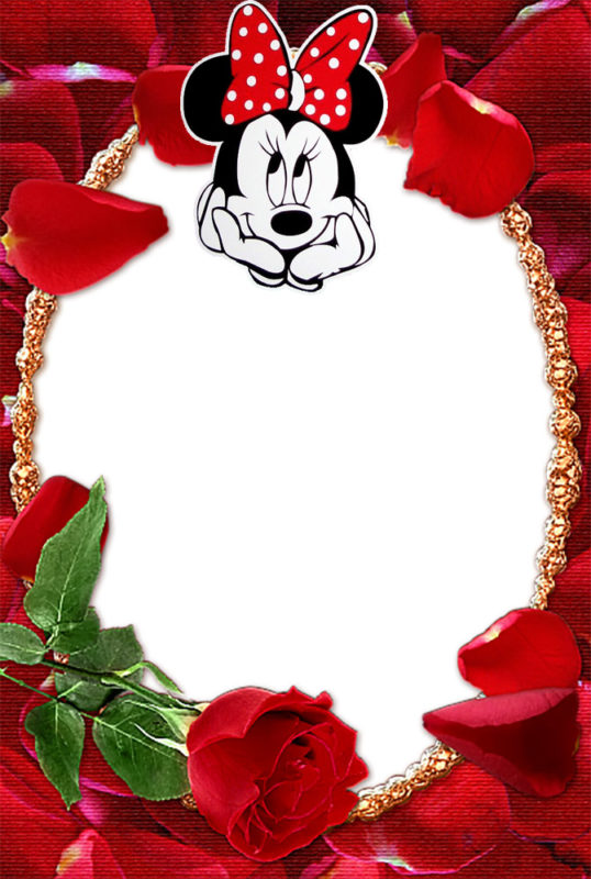 Custom Minnie Mouse Invitation Card