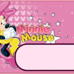 Free Online Minnie Mouse Invitation 150x150