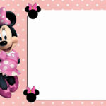 Free Online Minnie Mouse Invitation Template 150x150