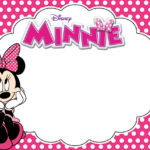Free Printable Minnie Mouse Birthday Party Invitation Card