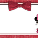 Free Printable Minnie Mouse Invitation Template 150x150