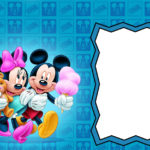 Free Printable Minnie and Mickey Mouse Invitation 150x150
