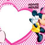 Love Minnie Mouse Invitation Template
