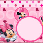 Minnie Cute Pink Invitation 150x150