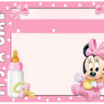 Minnie Mouse Baby Shower Invitation 150x150