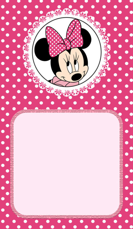 Minnie Mouse Birthday Invitation - Free Printable Invitation Templates
