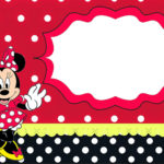 Minnie Mouse Birthday Party Invitation Template 150x150