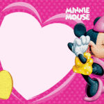 Minnie Mouse Heart Invitation 150x150