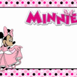 Minnie Mouse Invitation 150x150