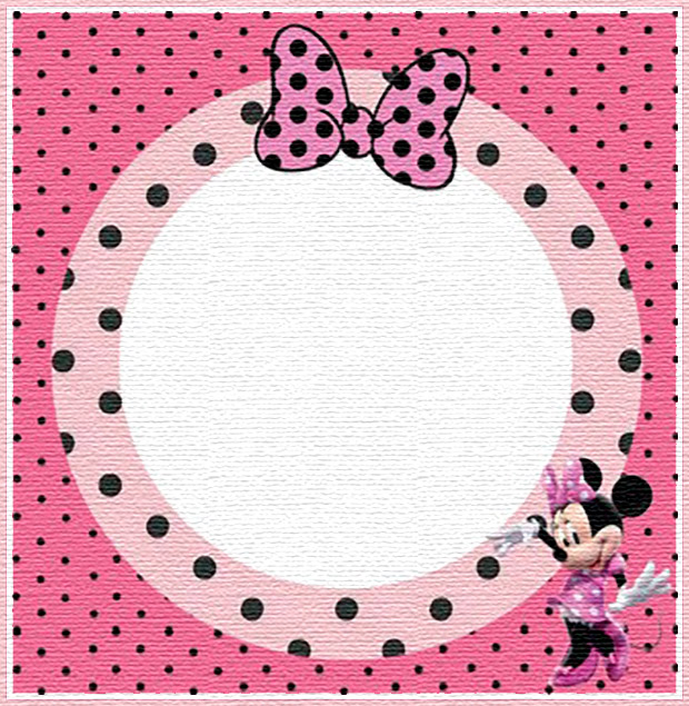 Free Printable Minnie Mouse Invitation Templates - Part 1
