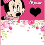 Minnie Mouse Invitations 1 150x150