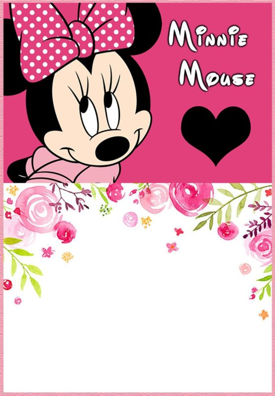 Minnie Mouse Invitations 1