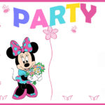 Minnie Mouse Party Invitation 150x150