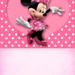Printable Minnie Mouse Party Invitation 150x150