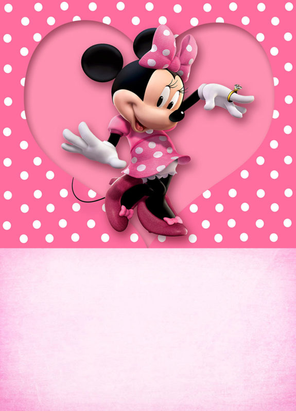 Printable Minnie Mouse Party Invitation