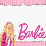 Free Barbie Doll Invitation Card 150x150