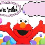 Free Online Elmo Invitation Template 150x150