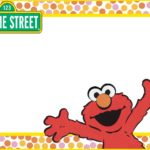 Printable Elmo Invitation Card 150x150