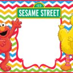 Sesame Street Elmo Birthday Invitation Template 150x150