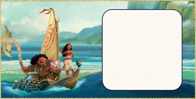 Deliver Fun With Your Moana Birthday Or Shower Invitations