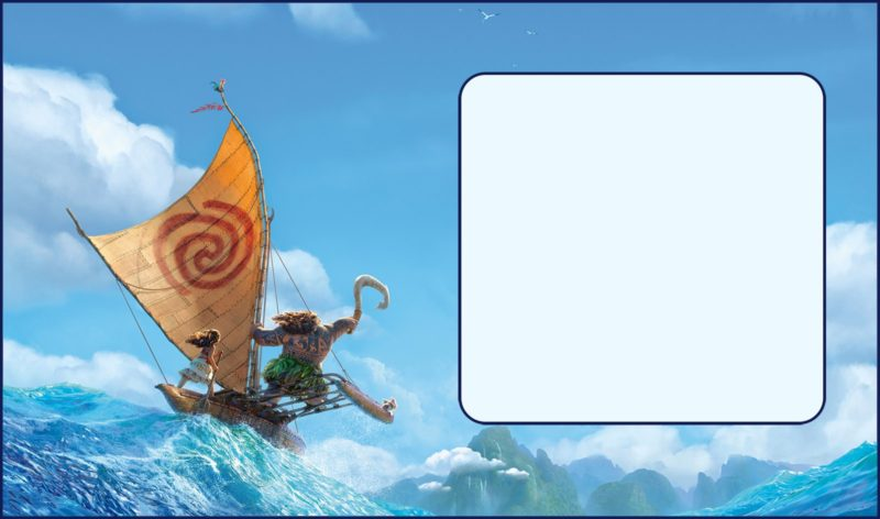 Free Printable Moana Party Invitation Card