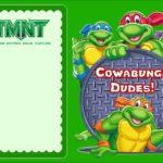 Free Online Ninja Turtle Invitation 150x150
