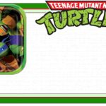 Ninja Turtle Invitation Template 150x150