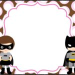 Batman Invitation Template for Girls 150x150