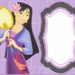 Free Printable Mulan Invitation Card