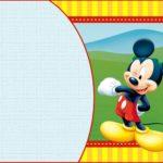 Custom Mickey Mouse Invitation Template