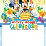 Free Printable Mickey Mouse Clubhouse Invitation 150x150