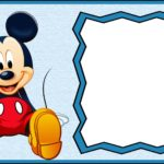 Free Printable Mickey Mouse Invitation Template 150x150