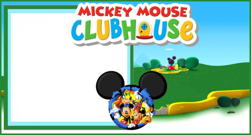 8 Free Mickey Mouse Invitations Templates