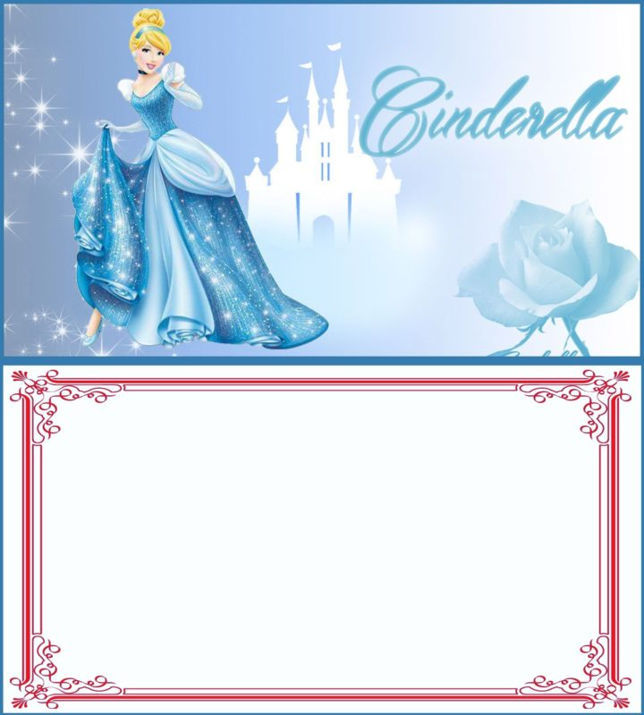 Cinderella Party Invitation Card