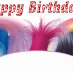 Birthday Invitation – Trolls Theme