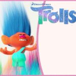 Cute Trolls Invitation Template 150x150