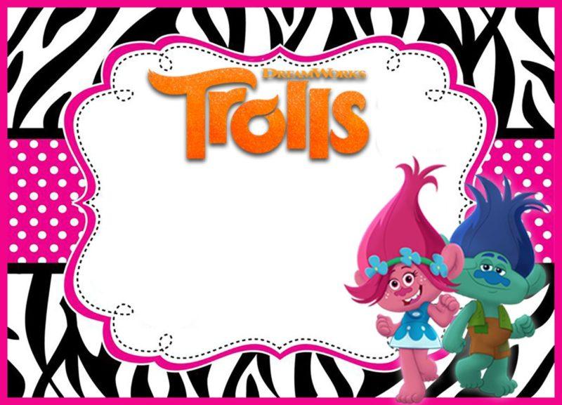 Free Online Trolls Invitation