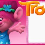 Free Printable Trolls Invitation for Girls 150x150