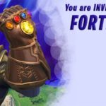 Fortnite Birthday Party Thanos Invitation 150x150