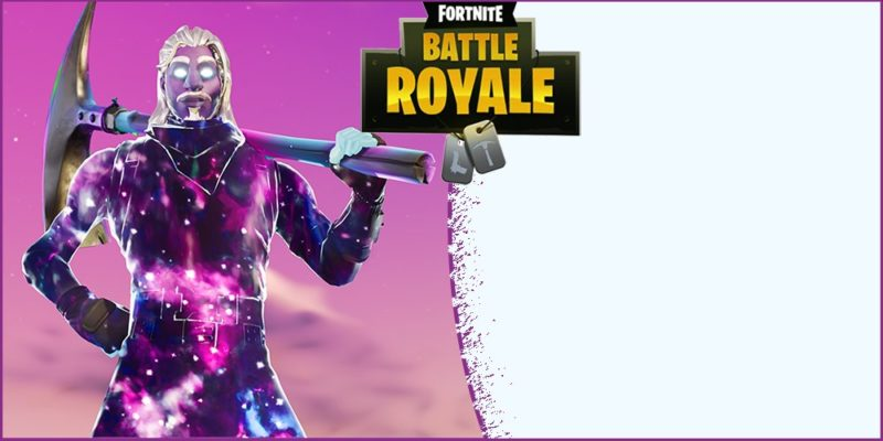 Fortnite Invitation Free Template